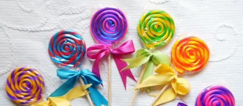 Paletas de caramelos para la obesidad