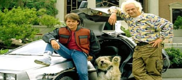 Marty McFly y Doc en 'Regreso al Futuro