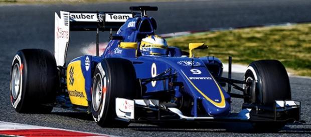 Sauber es patrocinada por el Banco du Brasil