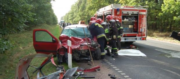 Statystyki wypadków drogowych w Polsce.