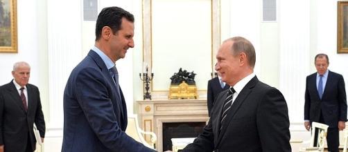 L'incontro al Cremlino tra Assad e Putin