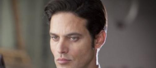 L'attore protagonista Gabriel Garko