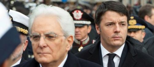Legge di Stabilità 2016 Renzi da Mattarella