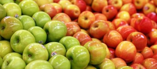 Manzanas de supermercado (plaguicidas)