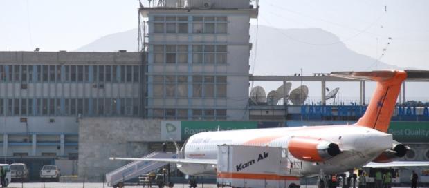 Aeropuerto de Kabul (Afganistán)