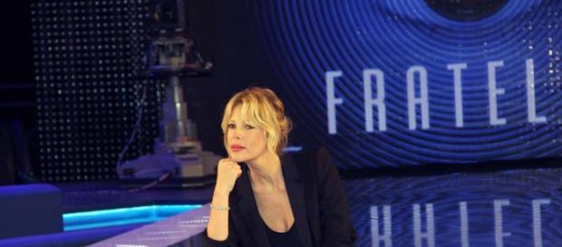Alessia Marcuzzi conduttrice del Grande Fratello.