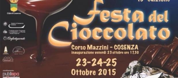 Cosenza: Festa del Cioccolato 2015.