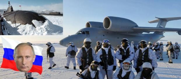 Zona arctică, bastionul înarmat a lui Putin