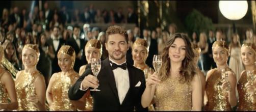 David Bisbal y María Valverde en el spot de 2014