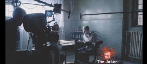 Jared Leto durante el rodaje de la película