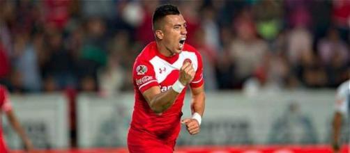 Uribe, melhor marcador do Toluca