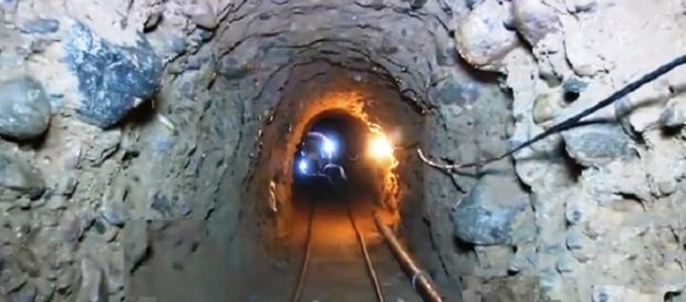 Captura de pantalla el tunel de Tijuana