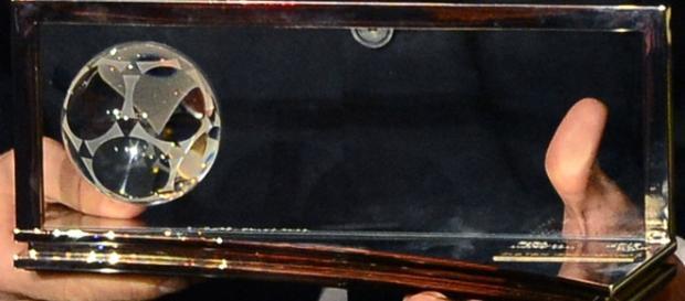 El trofeo que se le entrega al galardonado