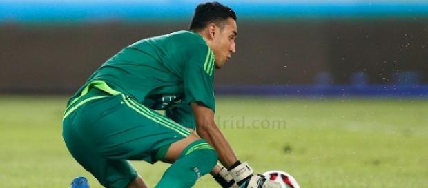 Keylor Navas, futbolista del Real Madrid