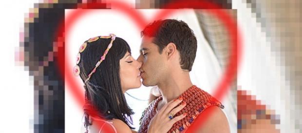Nefertari confessa que ama Moisés