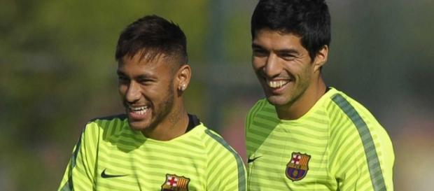 Neymar y Luis Suárez, la ofensiva azulgrana