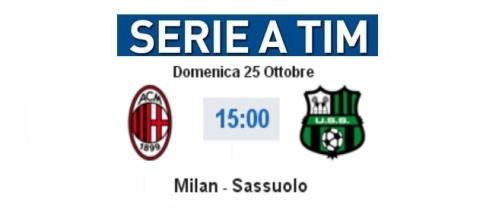 DIretta Live Milan - Sassuolo su BlastingNews