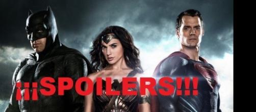 Spoilers a porrillo sobre Batman v Superman