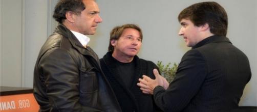 Daniel Scioi, Ricardo Montaner y Dante Gebel