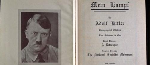 Edición en inglés de 'Mein Kampf'.
