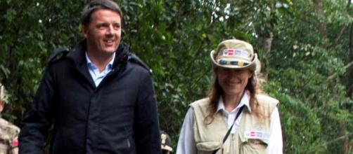 Renzi in Perà al sito archeologico di Machu Picchu