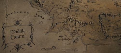 The map sheds light on Middle-Earth's mastermind.