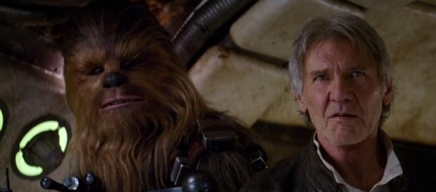 Han Solo y Chewbacca, de vuelta en el Episodio VII