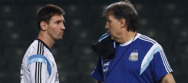 Martino no convoca a Leo Messi