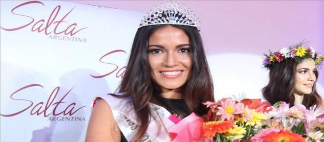 Joven salteña es elegida Miss Argentina 2015