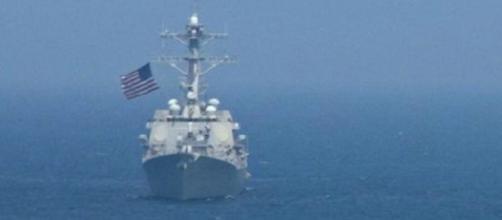 barco destructor norteamericano