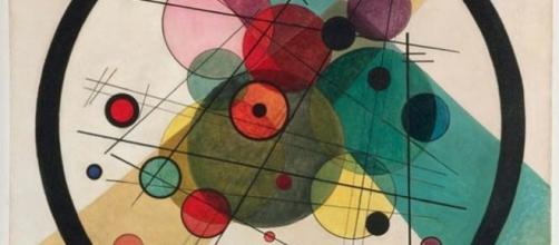 Circles in a circle (1923, Kandinsky)