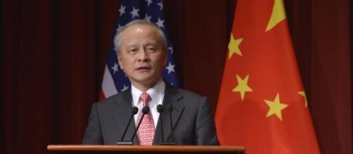 """Embaixador Cui Tiankai: """"É uma grave provocação."""""""