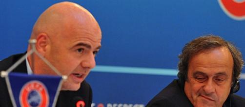 Gianni Infantino si candida alla presidenza Fifa