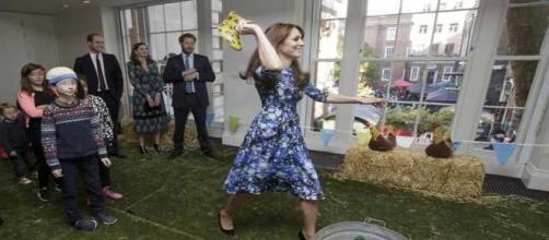 Kate Middleton e il lancio dello stivale