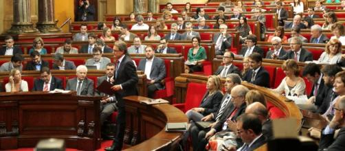 Parlamento de Cataluña: imagen de archivo