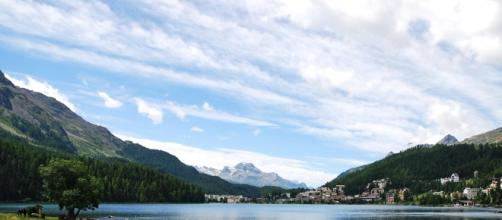 Ponte dell'8 dicembre a Saint Moritz