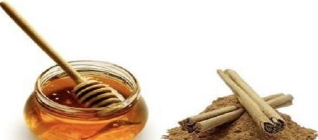 Canela y miel , tratamiento para bajar de peso .