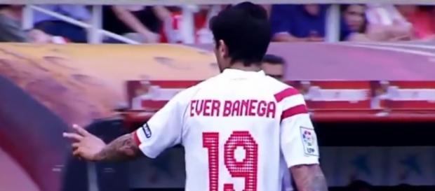Ever Banega se encuentra en su mejor momento