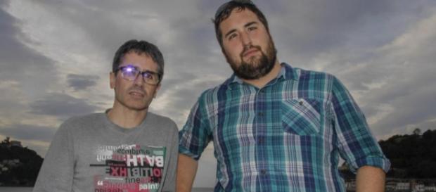 Joseba y Mikel, ciegos por culpa de un medicamento