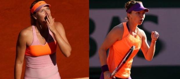 Simona Halep - Maria Sharapova la Singapore