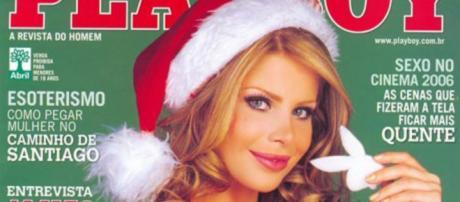 Karina se arrepende de ter pousado para Playboy