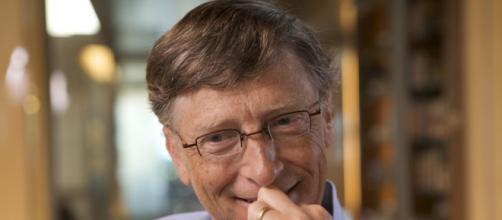 Bill Gates durante una conferencia