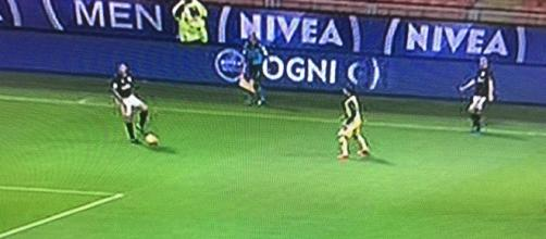 For once, Milan defending phase was working