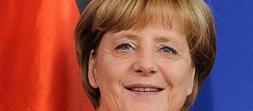 Fotografía de la dirigente Angela Merkel