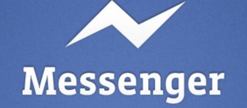 Il logo di Messenger di Facebook