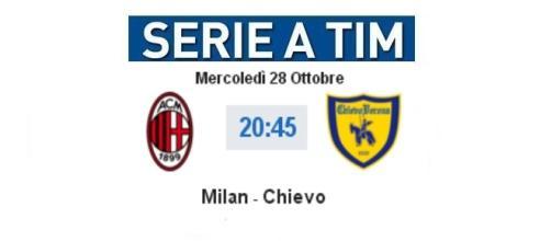 Milan - Chievo in diretta live su BlastingNews