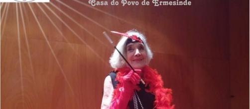 Uma das modelos, Rosa Sousa, tem 91 anos