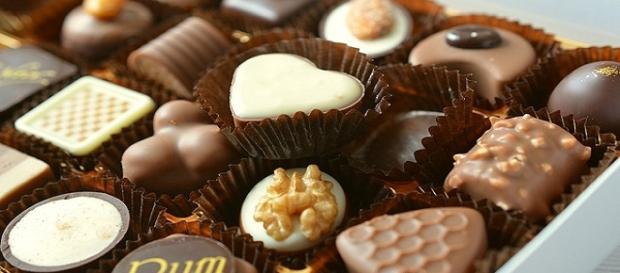 Chocolate bueno para la salud y el animo