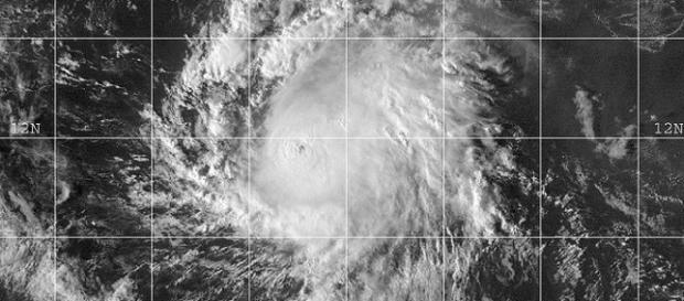 Fotografía del huracán Patricia