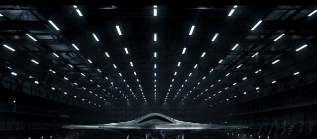 imagen del nuevo bombardero nuclear